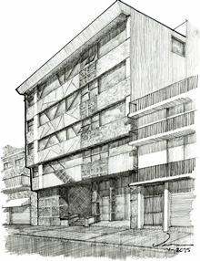105. Edificio en la calle Guzmán