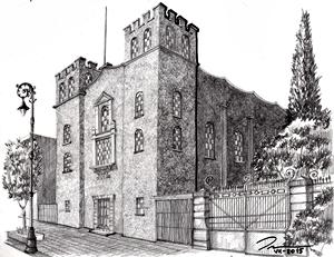 113. Templo Cristiano en Avenida Madero #334 (1927)
