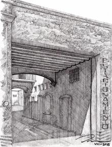 118. Mesón en la calle Plazuela #123