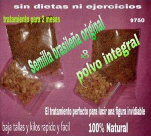 La semilla de brasil para adelgazar es un fraude el Semilla de brasil es toxica