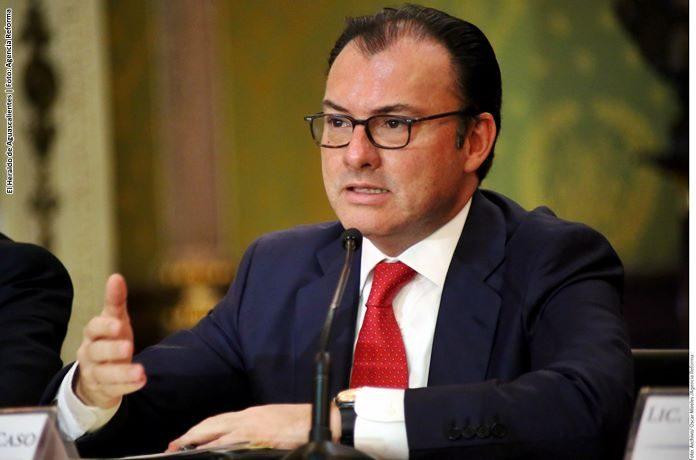 Niega cancillería que Videgaray modificara discurso de Trump