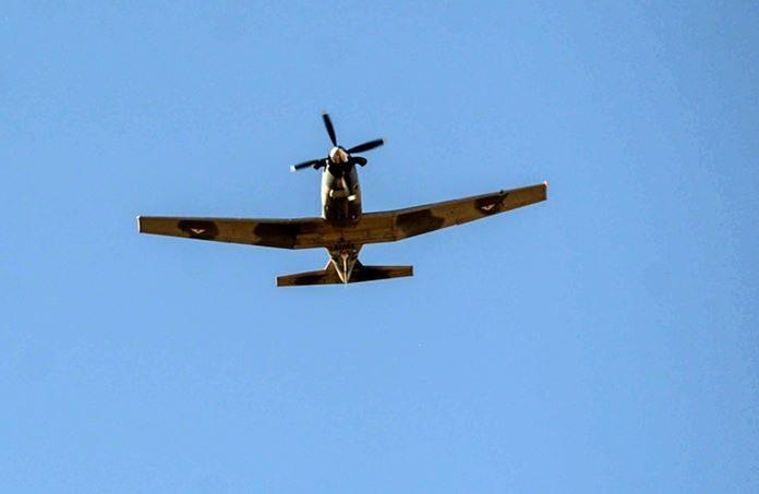 Aeronave ilícita ataca avión militar en Ensenada