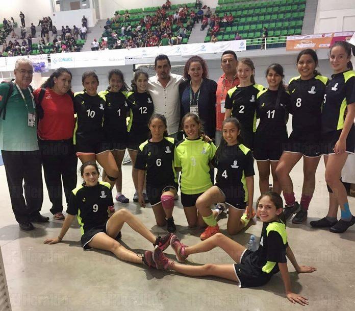Oro para Colima en handball