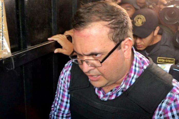 Javier Duarte será extraditado el lunes, asegura presidente de Guatemala
