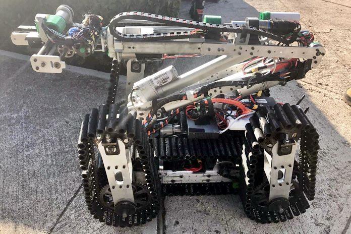Habilita la U. Panamericana Aguascalientes su robot de rescate
