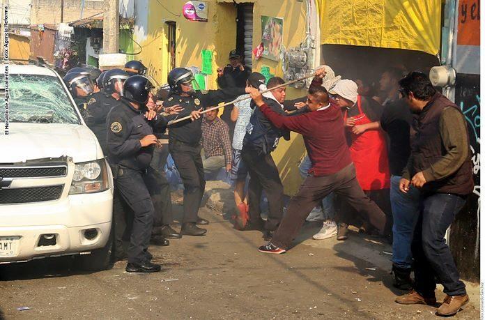 Intento de linchamiento provoca enfrentamiento en Cuajimalpa, CDMX