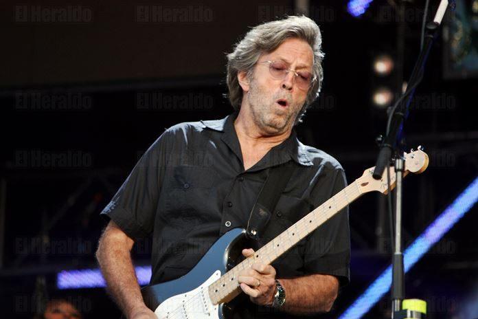 ´Me estoy quedando sordo´: Eric Clapton