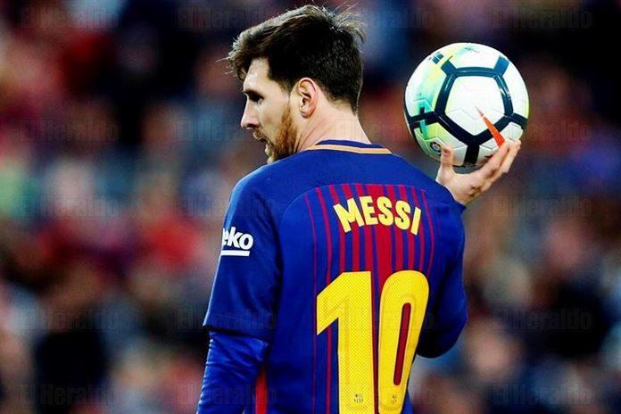 Messi tiene una mini cita con Courtois
