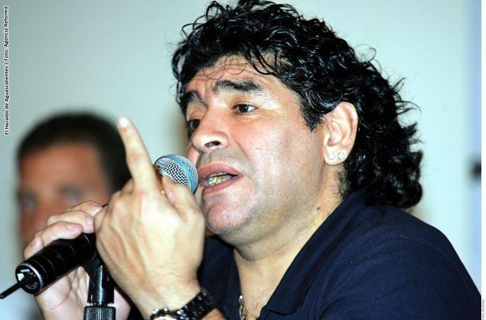 Una imagen expone el rechazo de Maradona hacia el ''Kun'' Agüero