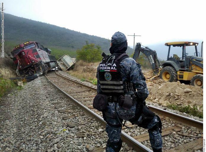 Descarrila tren en los límites de Puebla con Veracruz