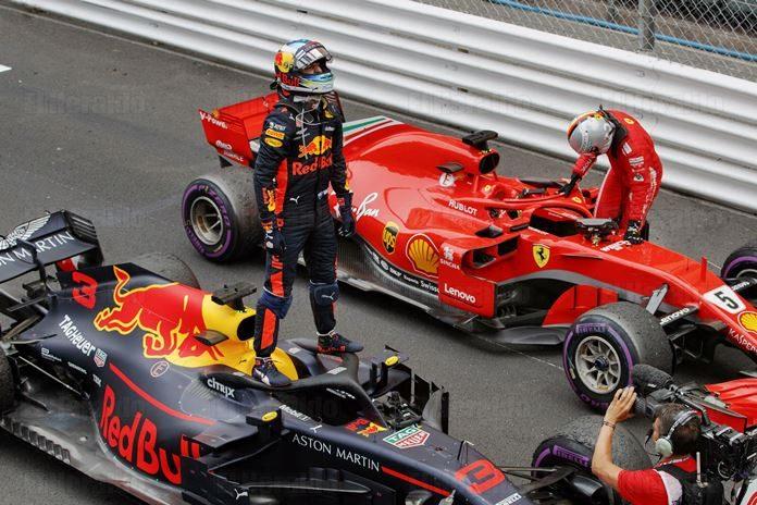 Ricciardo larga primero en el GP de Mónaco