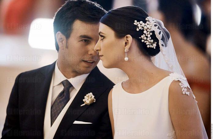 Checo Pérez y Carola Martínez se casarán este sábado