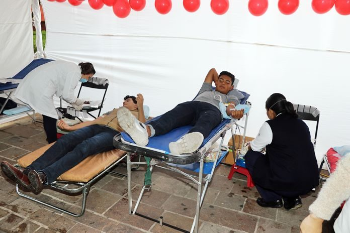 Continúan acciones ante el día mundial del donante de sangre