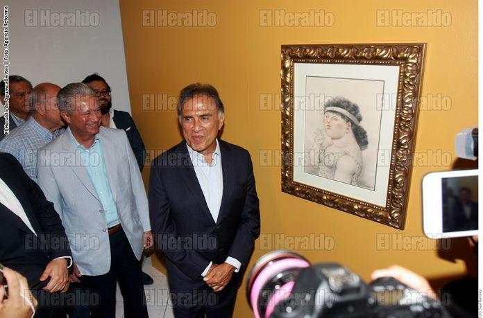 Exponen obras de Siqueiros confiscadas a Duarte